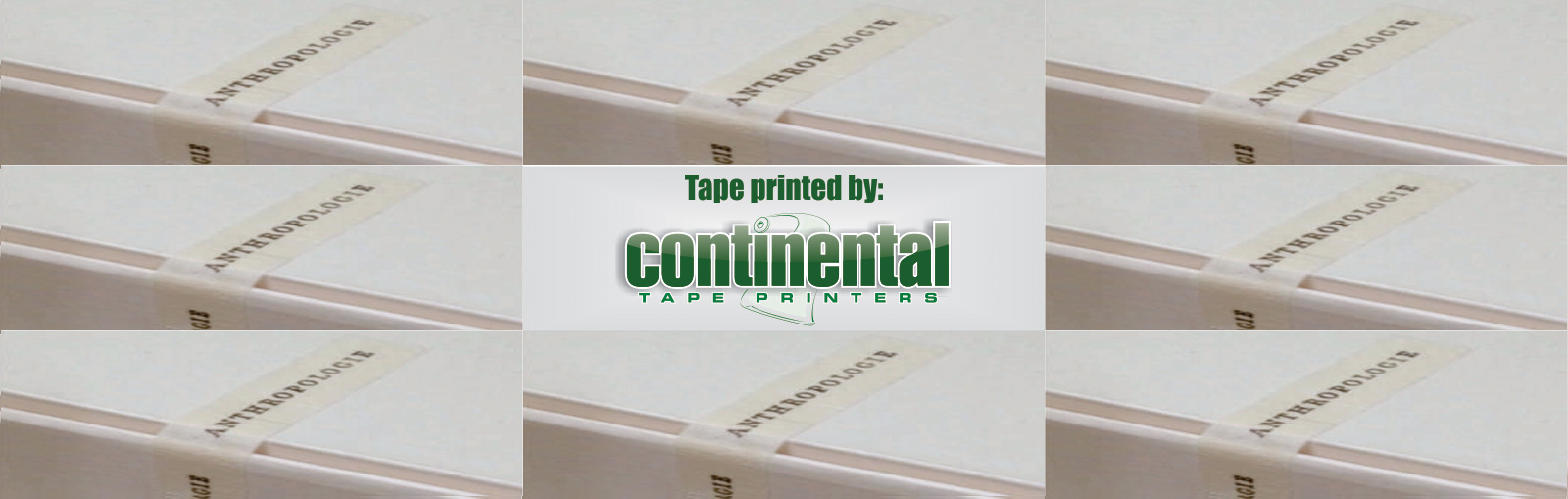 Printed Custom Tape - Continental Tape Printers - Custom Printed Packaging Tape